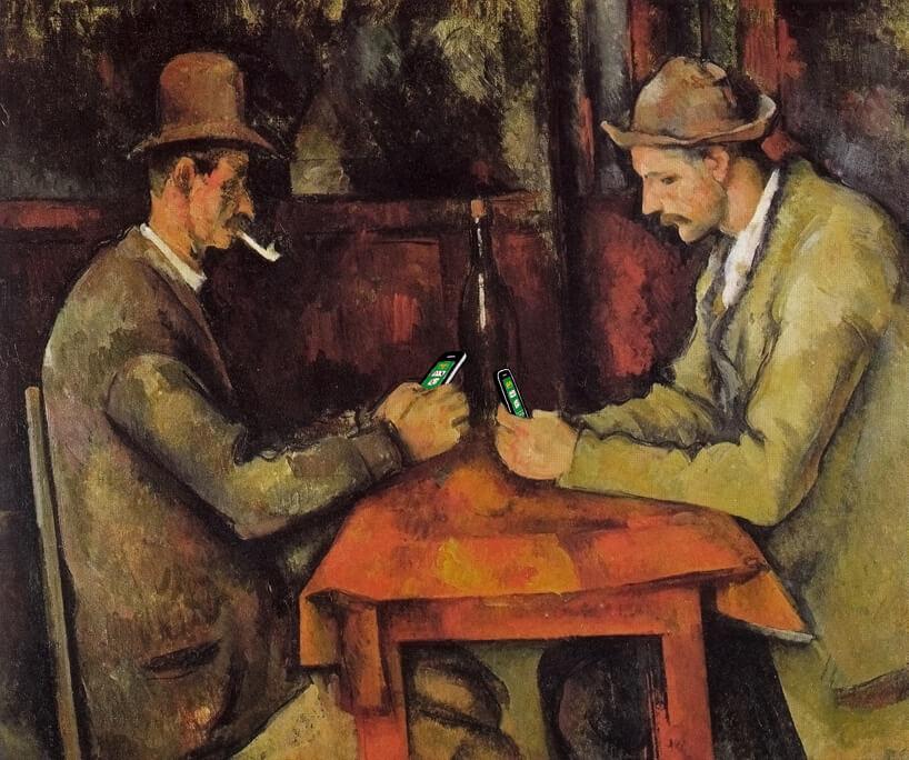 I giocatori di carte di Cèzanne