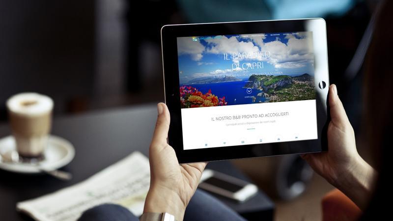 Sito web Il Paradiso di Capri