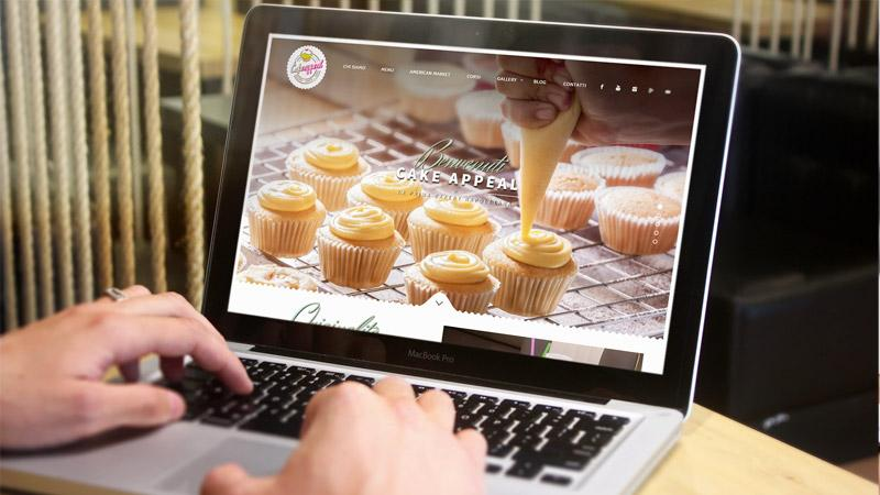 Sito web Cake Appeal